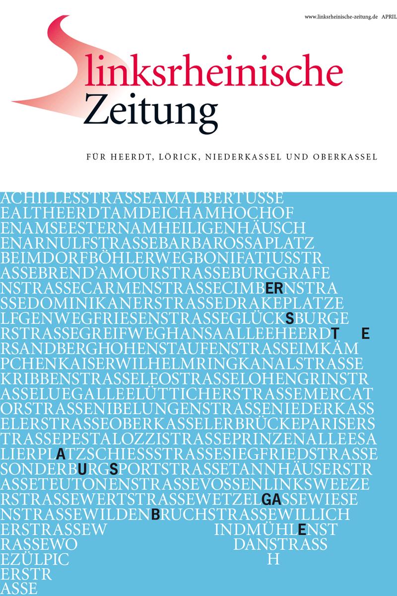 Titel Linksrheinische Zeitung Erste Ausgabe