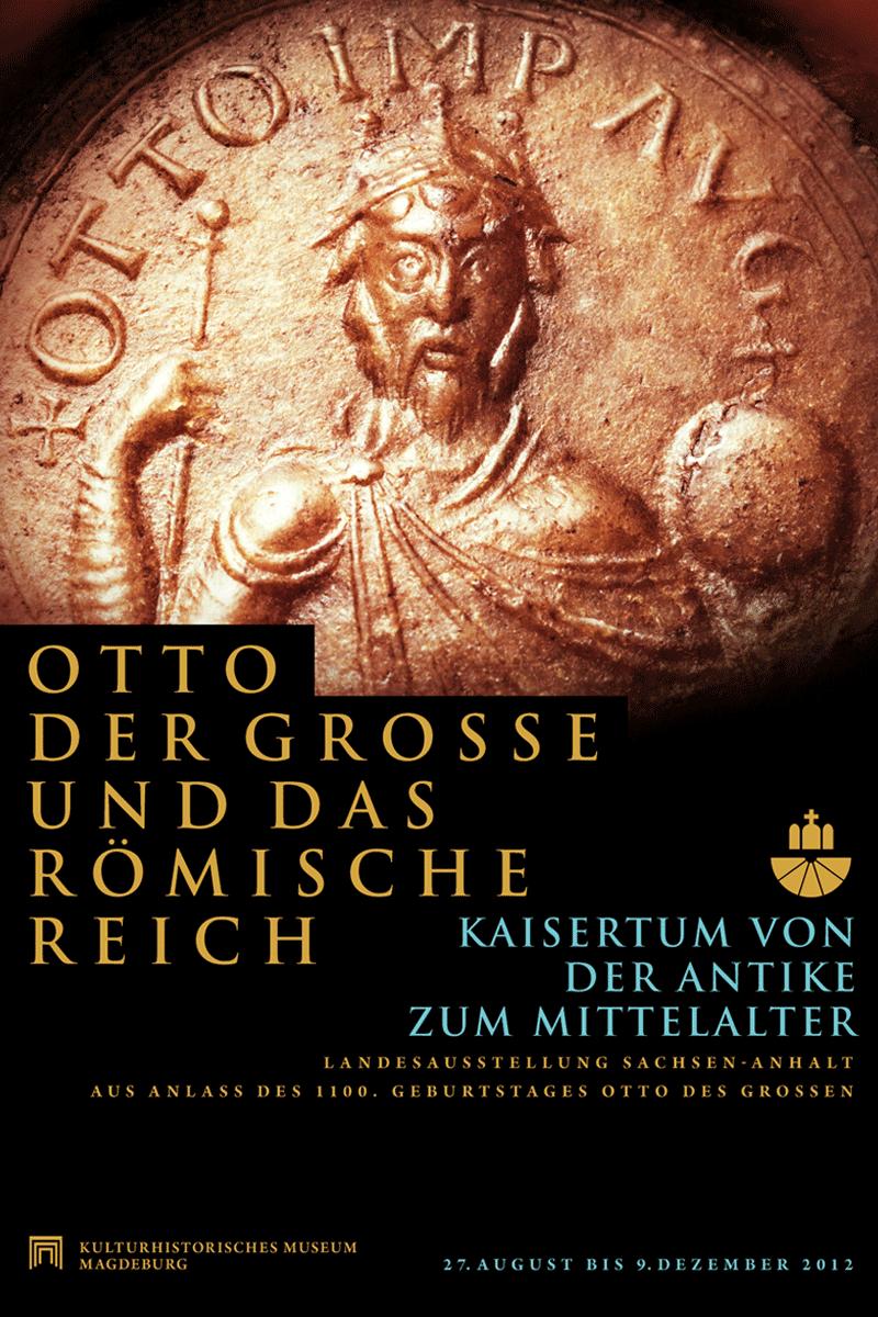 Plakat zur Landesausstelung Sachsen-Anhalt 2012